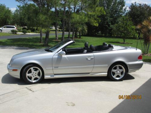 mercedes clk 430 convertible ebay. Black Bedroom Furniture Sets. Home Design Ideas