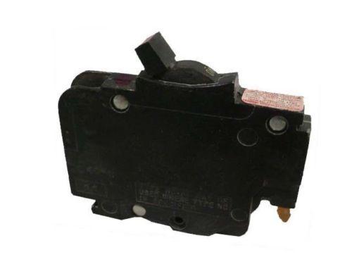 federal pacific 50 Amp FPE NC050  Thin Stab Lok single pole Circuit Breaker thin
