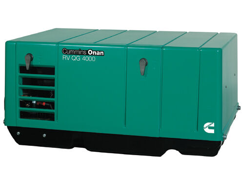 Cummins Onan 4.0 KY-FA-26100 RV or Commercial Generator Set RV QG 4000