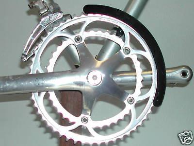 MTB Road Bike Chainring Guard Aluminum Alloy Chain Ring Cover 130BCD Carnkset