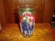 1984 Kentucky Derby Glass