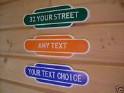 Railway Totem Signs