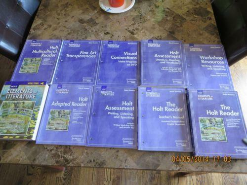 Holt elements of literature books ebay fandeluxe Images