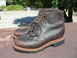 Chippewa Boots Snake Logger Engineer Work Ebay