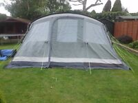 Great Condition Outwell Vermont XLP 7 man tent