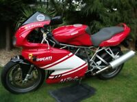 2009 Ducati 900SS for sale. Alice Race Team colours limited edition