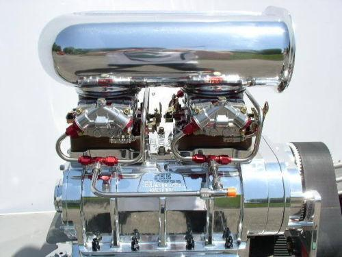 on Chevy 350 Blower Supercharger