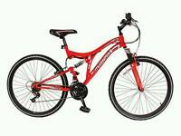 Muddy Fox Mountain bike red
