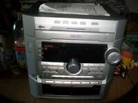 JVC HI FI with 3 CDs, Radio and double tape
