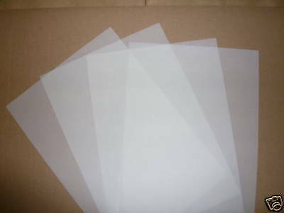 50 x A4 TRANSLUCENT PAPER / VELLUM 110gsm CRAFT