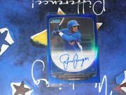 2012 Bowman Chrome Auto Odor