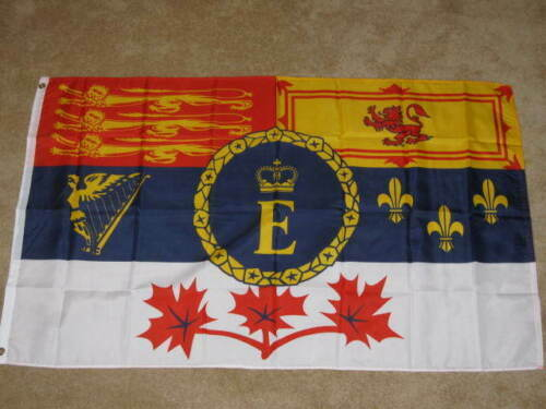 3X5 CANADIAN ROYAL STANDARD FLAG CANADA BANNER NEW 100D