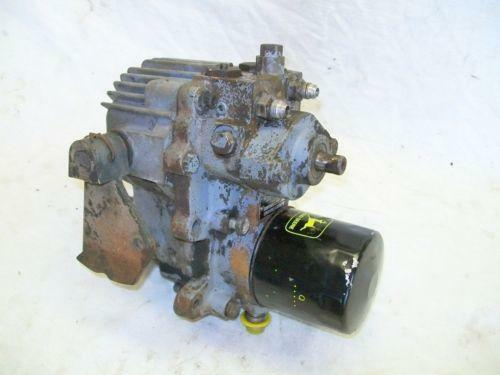 John Deere 420 Hydrostatic Transmission : John deere transmission ebay