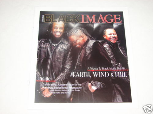 Vegas Black Image Magazine Earth Wind & Fire Tribute Issue June 2009 NEW