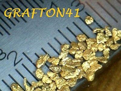.400 Grams Clean Golden Placer Gold fine Nuggets Bullion  --**