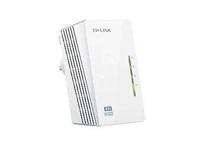 TP-LINK AV500 TL-WPA4220 600Mbps WiFi Powerline Extender Booster Single unit UK