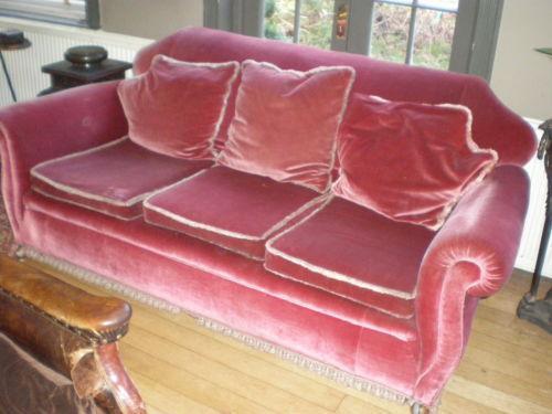 Velvet Sofa Ebay