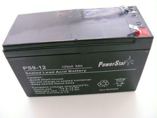 12 volt 9 amp battery ebay. Black Bedroom Furniture Sets. Home Design Ideas