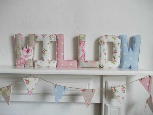 fabric letters ebay