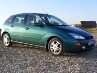 BREAKING FORD FOCUS PETROL GREEN (ALL PARTS AVAILABLE!!!)