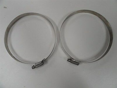 HI TORQUE BREEZE 650 STAINLESS STEEL HOSE CLAMP (QTY 2) 6-1/2