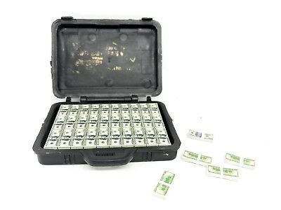 "FIG-BC: 1/12 scale Toy Briefcase with US Money Cash Bills for 6"" action figures"