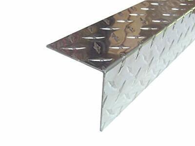 Aluminum Diamond Plate Angle .062 X 3 X 3 X 48 In. 3003 Uaac
