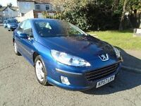 2007 PEUGEOT 407 2.0HDI SE MANUAL DIESEL 4 DOOR SALOON 1 OWNER 2 KEYS