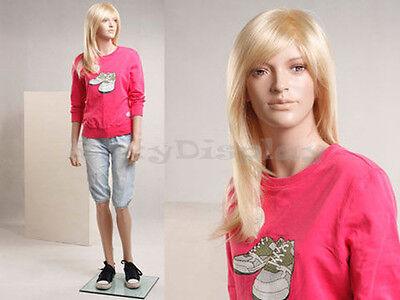 Child Fiberglass Mannequin Dress Form Display Sk09-mz