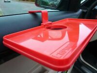 2 X DOOR MOUNTED CUP HOLDERS + 2 X DOOR MOUNTED TRAYS (NEW)