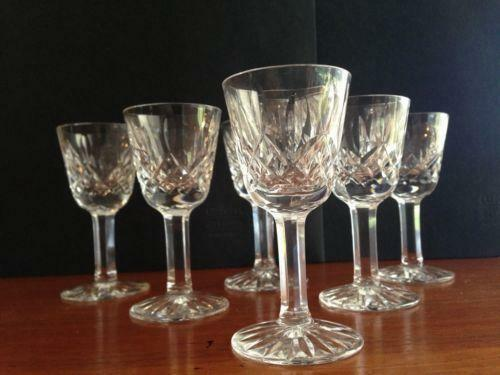 waterford cordial glasses ebay. Black Bedroom Furniture Sets. Home Design Ideas