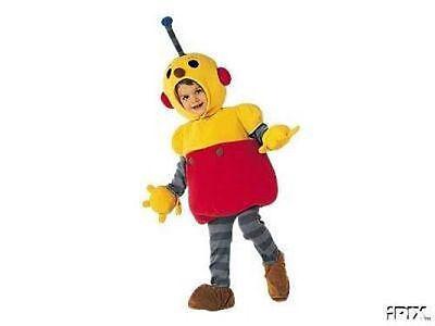 NEW! ROLIE POLIE OLIE Boys COSTUME XXS 2/3 Disney Store HALLOWEEN Robot - Rolie Polie Olie Halloween