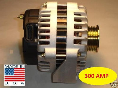 300 AMP CHEVY Alternator AVALANCHE EXPRESS SILVERADO SUBURBAN TAHOE HIGH OUTPUT