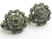 Sterling Silver Clip on Earrings