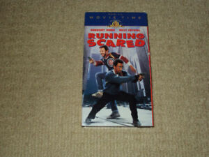 RUNNING SCARED, VHS MOVIE, EXCELLENT CONDITION