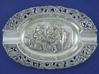 Ash Trays Silver Antiques