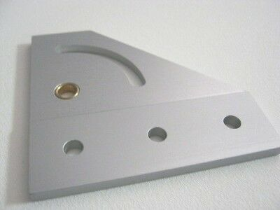 8020 Inc T-slot Aluminum Right Hand 90 Pivot Bracket 25 Series 25-4137 N