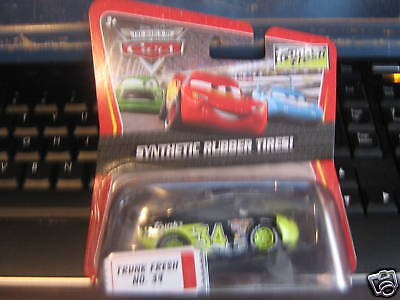 DISNEY PIXAR CARS TRUNK FRESH SYNTHETIC RUBBER TIRES!