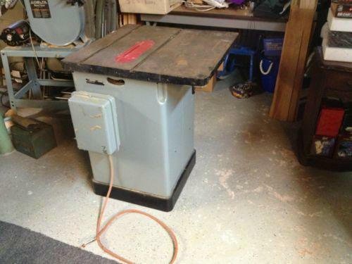 Delta Table Saw Ebay