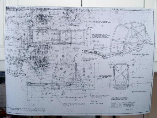 Vintage sprint car ebay Blueprints for sale