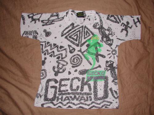 Vintage t shirt hawaii ebay for Vintage t shirt printing