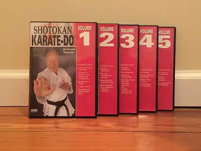 SHOTOKAN KARATE-DO Instructional Training Series (5) DVD Set speed power drills