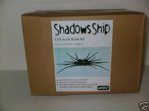 Babylon 5 Shadows Spider Ship Warp Models Resin Kit