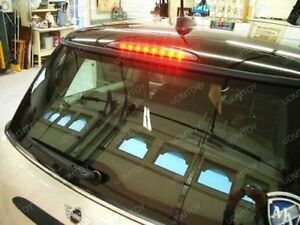 BMW MINI R50,R52 & R53 01-06 SMOKED BLACK 3RD LED REAR BRAKE LIGHT STOP LAMP