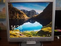 LCD Monitor 15 inch and 19 inch for Sale ( Excellent Working Condition )