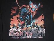 Iron Maiden T Shirt 2012