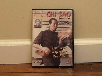 WING CHUN CHI SAO SEMINAR (2) DVD Set chi sau sparring training kung fu ip man