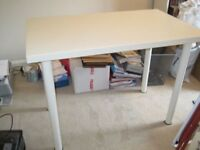 Ikea White office/bedroom desk