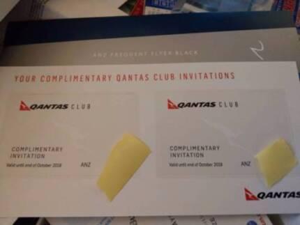 2 x Qantas Lounge Passes