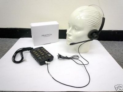 Plantronics Practica T110 Headset Telephone with MUTE & REDIAL for Call Centers
